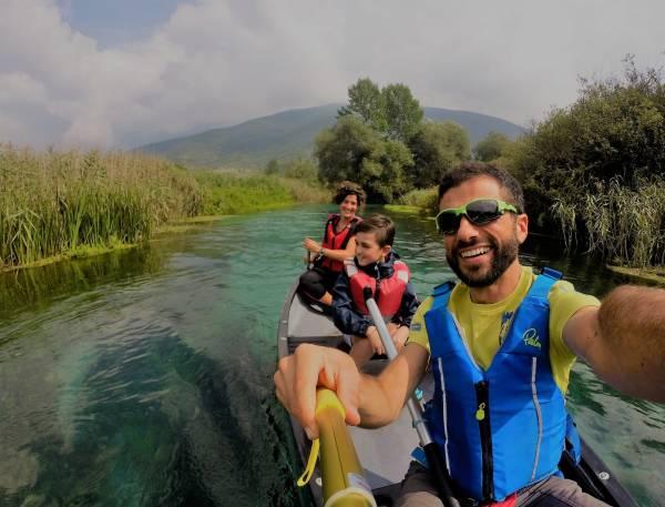 CANOA SUL FIUME PIÙ' BELLO D'ITALIA
