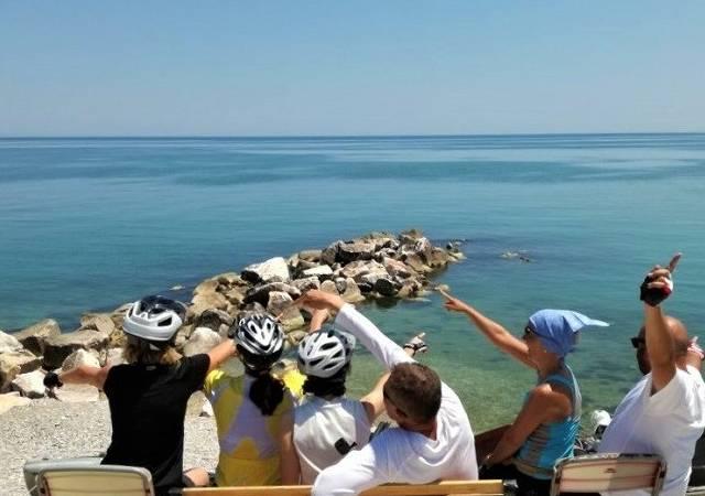 BICI E BARCA sulla via verde in Abruzzo