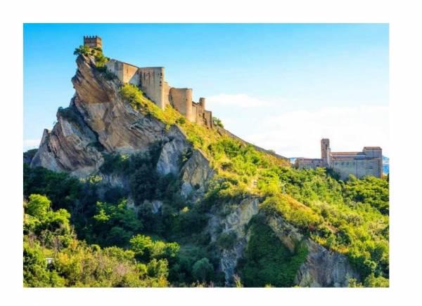 il castello di ROCCASCALEGNA e Gessopalena