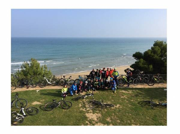 Pineto e Torre di Cerrano, wine & bike tour