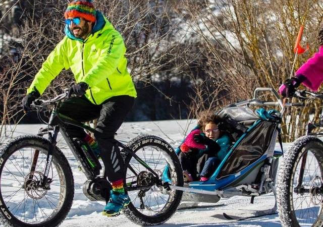 FAT BIKE ON THE SNOW - OVINDOLI VAL D'ARANO