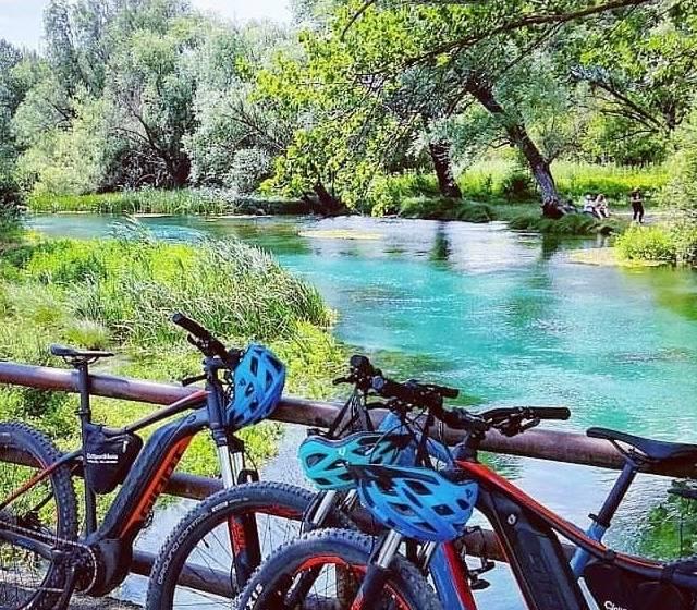 E-bike nella Valle del Tirino